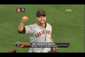 Cody Ross Advance to NLCS