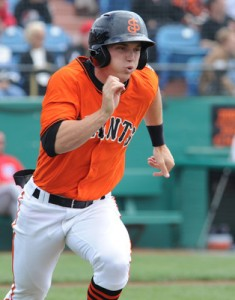 Gary Brown of the San Jose Giants.