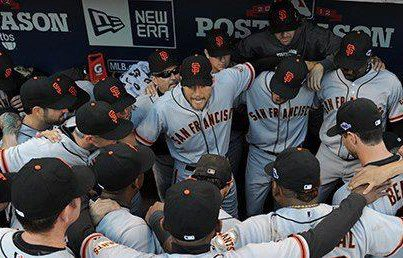 Pence-Giants-Together