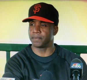 Barry Bonds SF Giants Coach