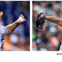 Dodgers Rich Hill vs Giants Madison Bumgarner
