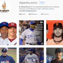 SF Giants Rumors Instagram