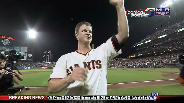 Matt Cain Perfect Game