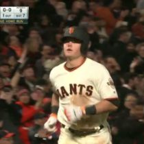 Christian Arroyo 1st HR